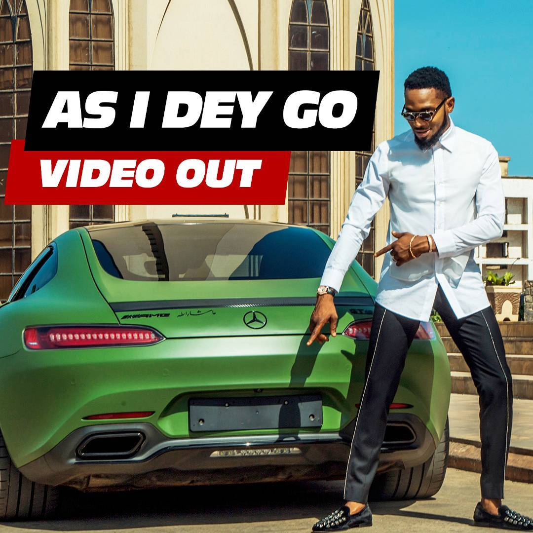 Fresh Video: D'Banj – 'As I Dey Go' Video