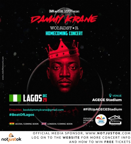 Dammy Krane Announces Worldstar Homecoming Concert