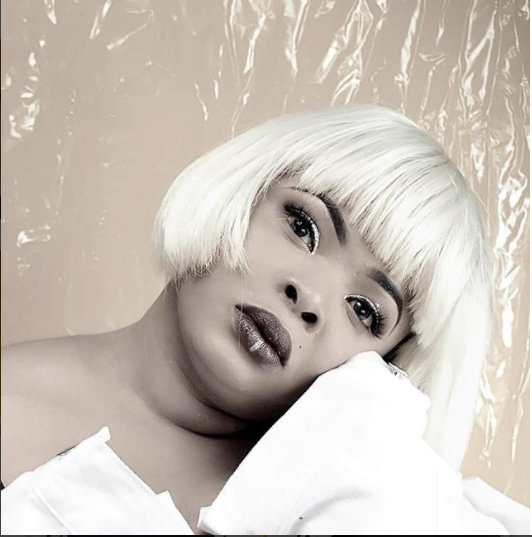 Dayo Amusa Unveils New Look And It's Fierce