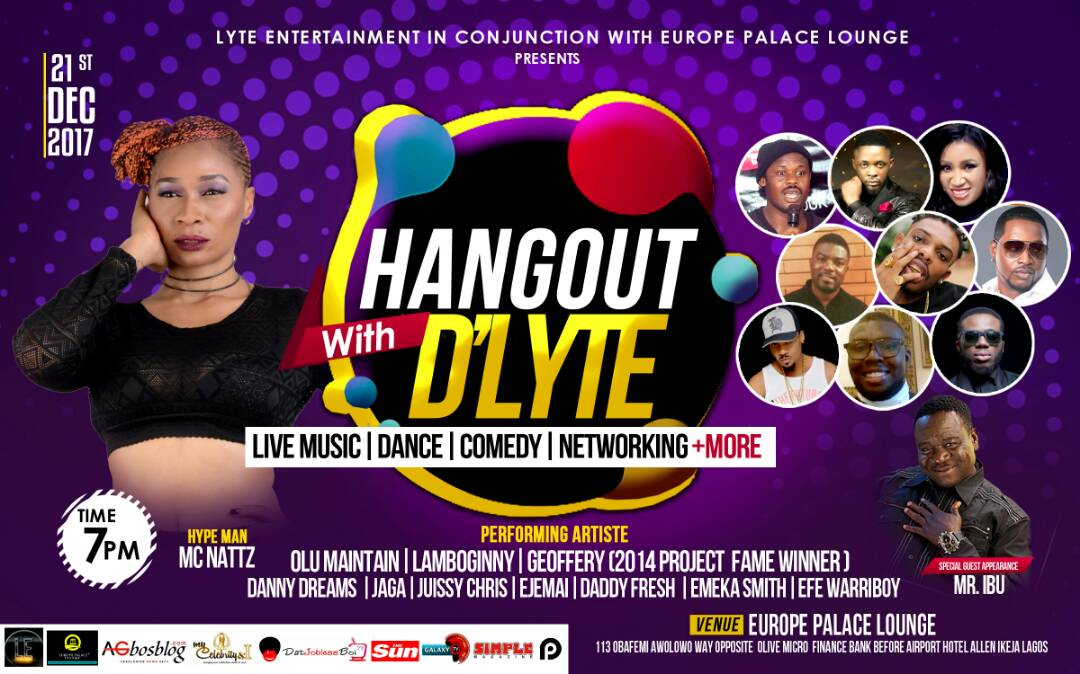 "Daddy fresh,Olu maintain,Muma Gee,Lamboginny, Efe warriboy  & more headlines ""Hangout With D'Lyte"""