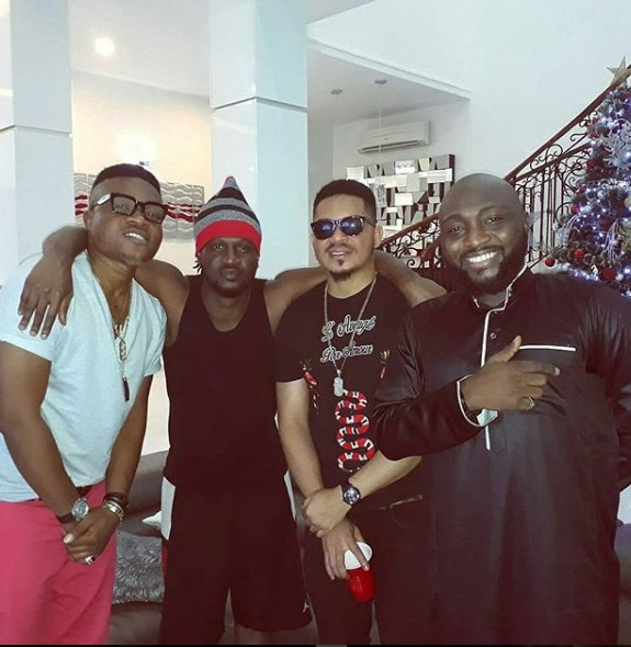 "Talented Singer ""Jumabee"" spotted with Paul Okoye of PSquare & Smash of Bracket."