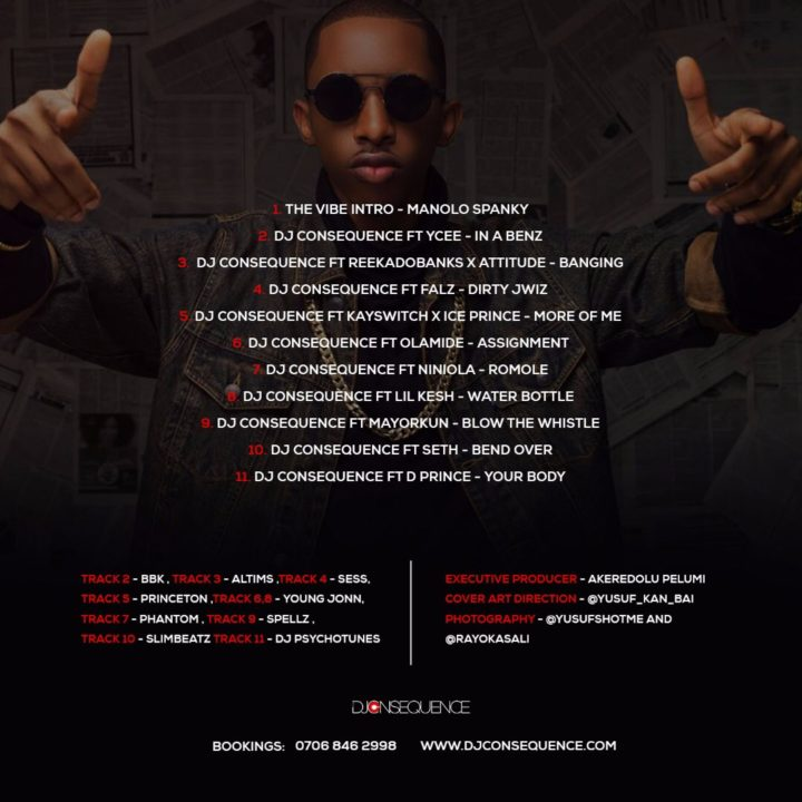 STREAM: DJ Consequence Releases Debut Album – VIBES (The Mixtape)