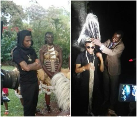 Wizkid Has Been Honored With A Chieftaincy Title In Uganda