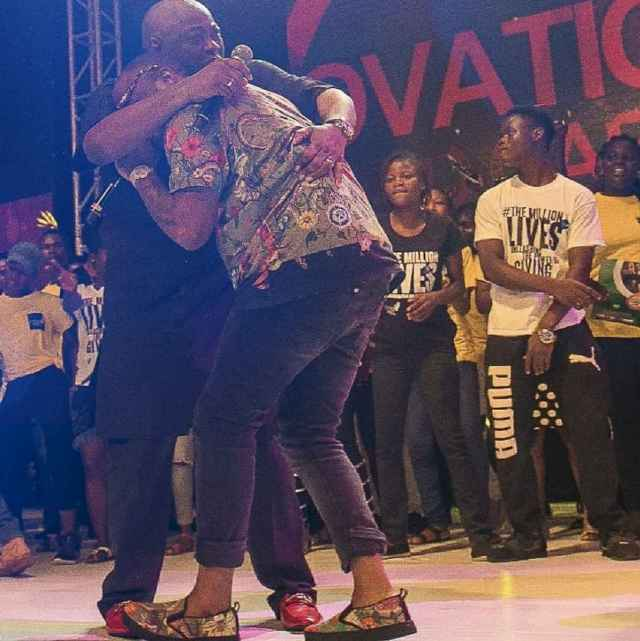 Lovely Moments As Davido And Dele Momodu Finally Settle Long Term Dispute