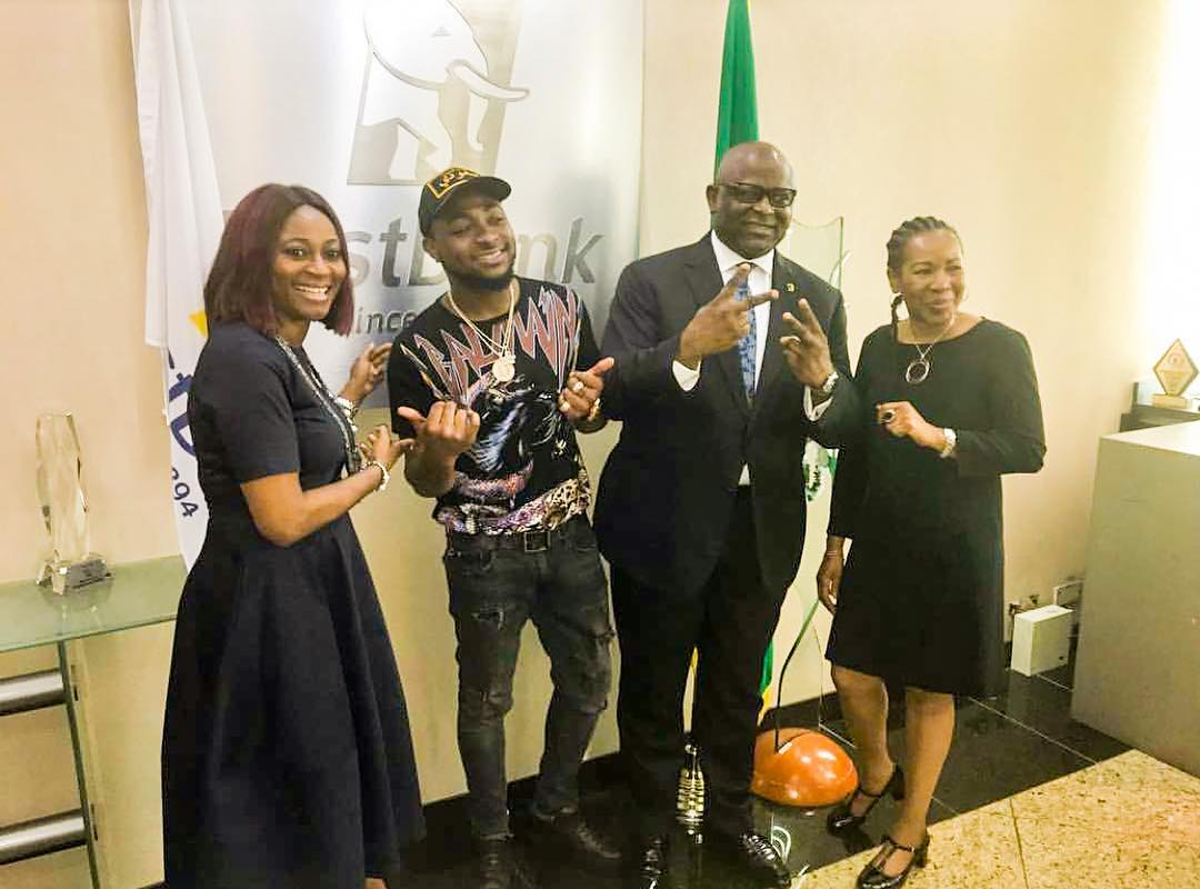 Davido Is On Top Of His Game As He Snags Endorsement Deal With First Bank