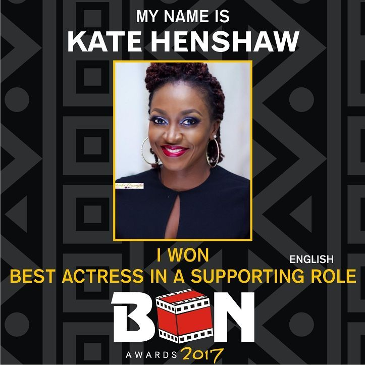 Here Is The Full List Of Winners At The 2017 Best Of Nollywood Awards (BON)
