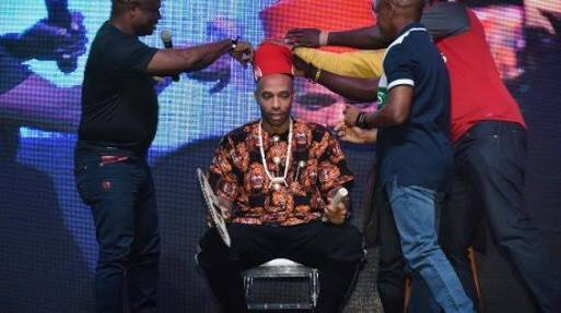 Arsenal Legend, Thierry Henry Honored With A Chieftaincy Title In Lagos