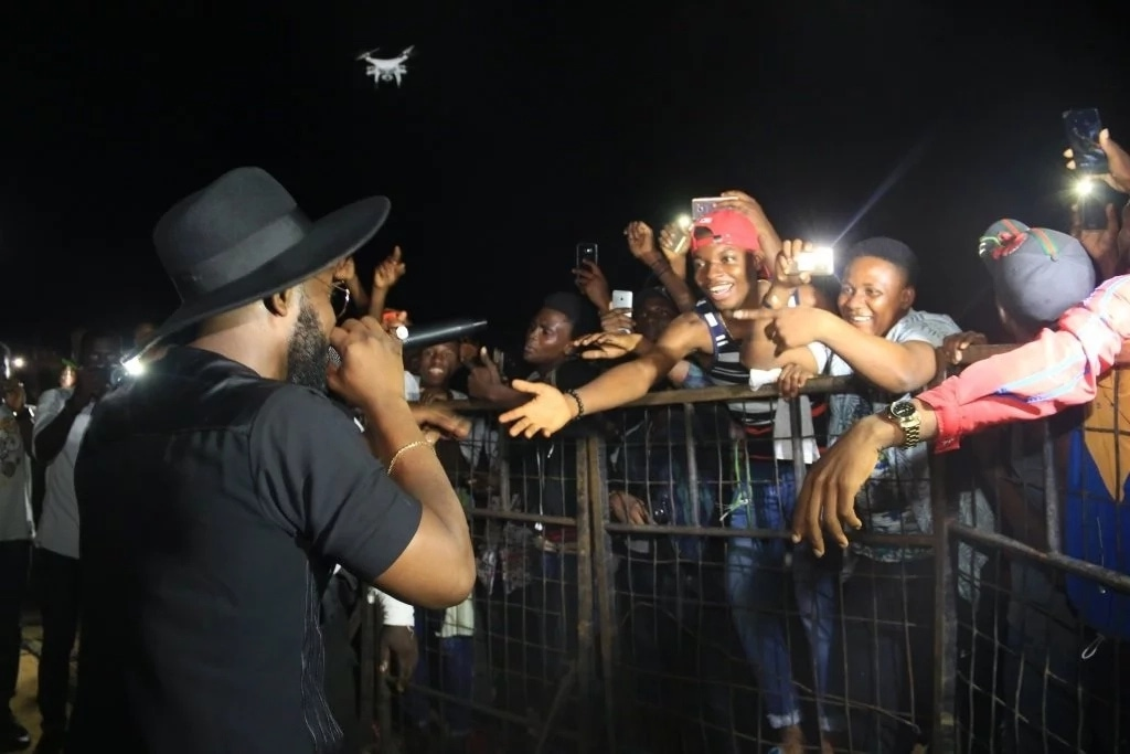 Fans startled as Falz and Dremo storm Coke Studio concert