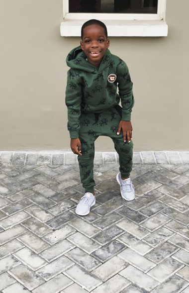 Wizkid's Son, Boluwatife Is All Swagged Out In Dapper Photos