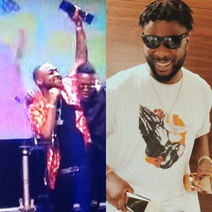 Davido & Maleek Berry Win Big At The Soundcity MVP Award Festival + Full List of Winners
