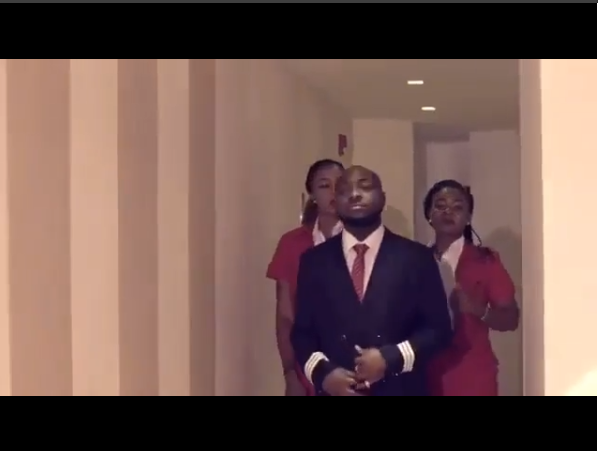 Davido Joins Banky W, Vector; Debuts Acting Career In Nollywood