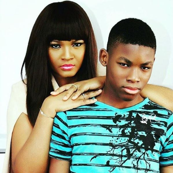 Omotola Jalade's Son Reveals Unknown Facts About His Mother In One-Of-A-Kind Interview