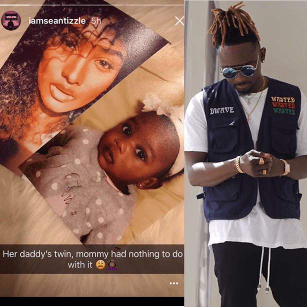 Sean Tizzle Beautifully Introduces His Babymama And Daughter To The World