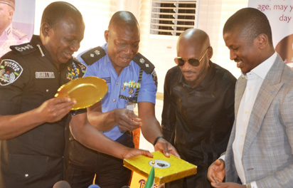 Tuface Pays Courtesy Visits To Inspector General Of Police Over Benue Killing