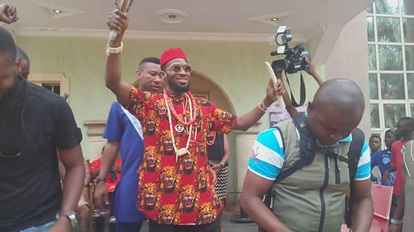 Eja Nla! D'banj Bags Chieftaincy Title In Imo State