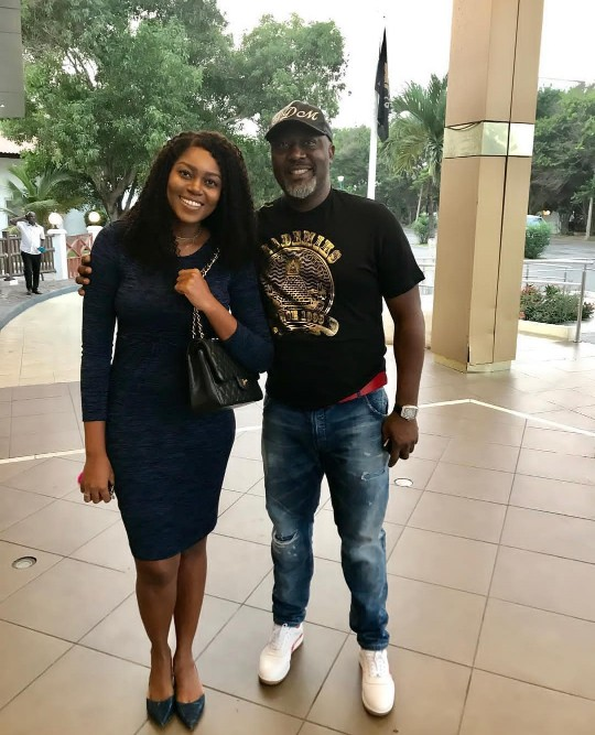 Senator Dino Melaye Has This To Say After Meeting Yvonne Nelson
