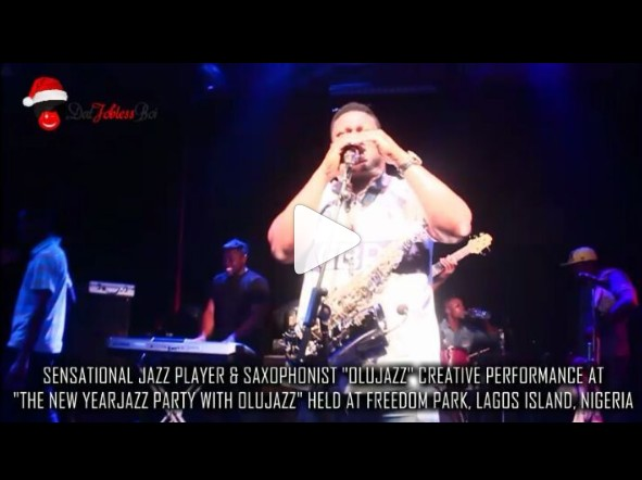 "WATCH OLUJAZZ's CREATIVE PERFORMANCE AT ""THE NEW YEAR JAZZ PARTY WITH OLUJAZZ"""
