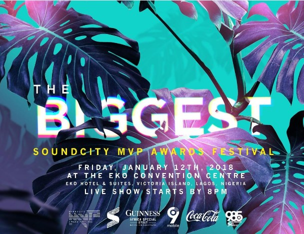 Check out 2017 Soundcity MVP Awards Festival Nominees