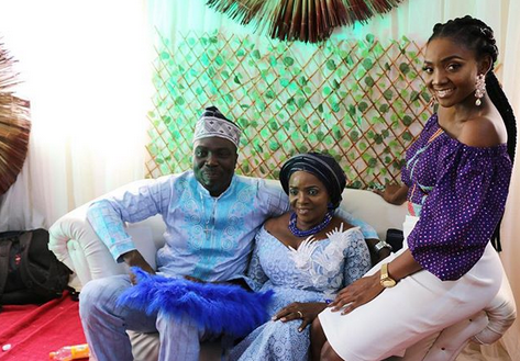 Simi Plays Role Of Chief Bridesmaid As 'The Love Of Her Life' Gets Married For The Second Time