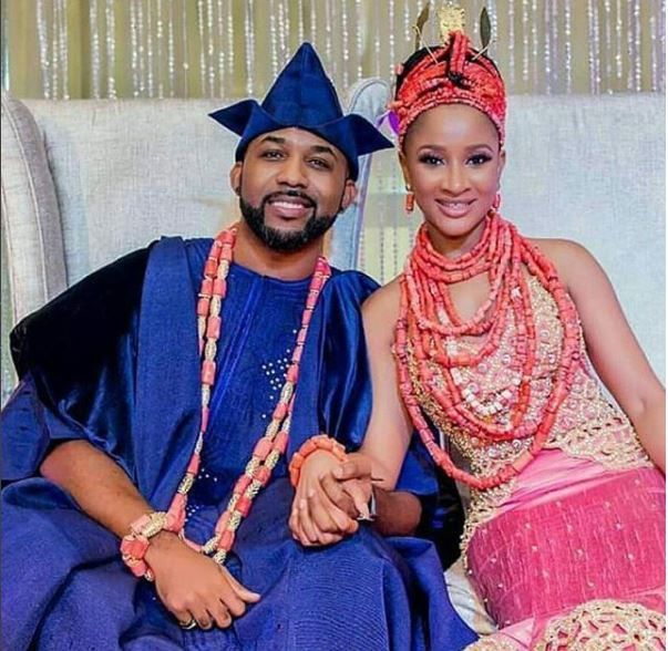 Banky W Wishes Wife, Adesua Etomi Happy Birthday And This Is What He Said To Her