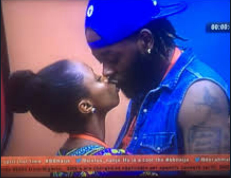 BB Naija 2018: Teddy A And Bambam Caught On Camera Having Sex