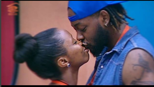 This Is What Cameras Almost Missed Between BB Naija Housemates Bambam And Teddy A