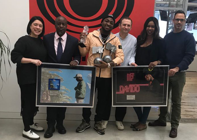 Davido Receives Diamond and Platinum Plaques For Massive Sale Of Fall & IF