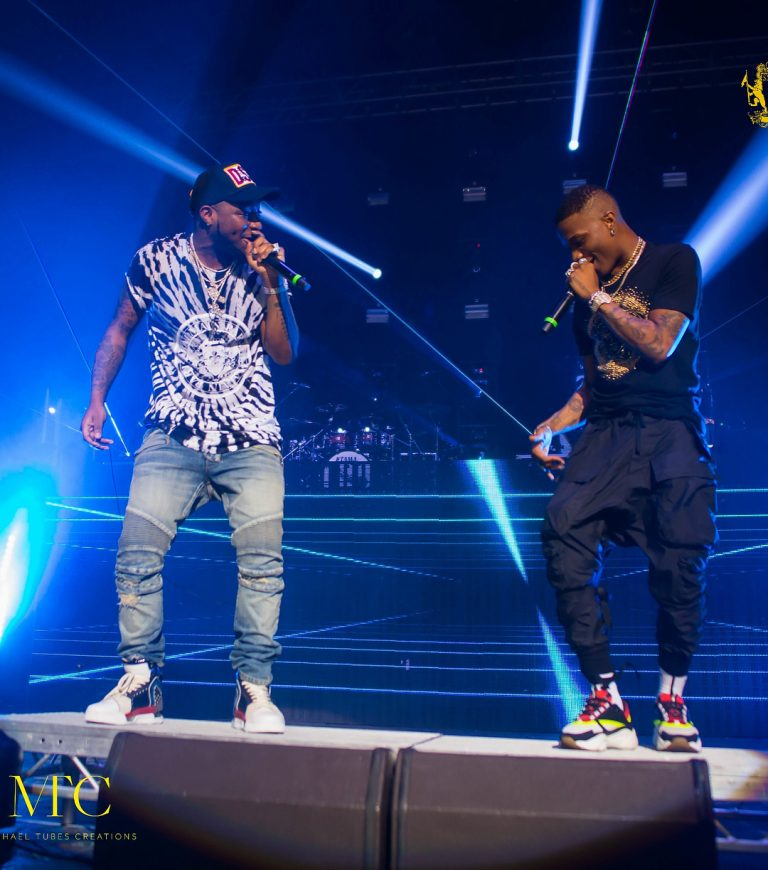 Davido Surprises Fans with Wizkid's appearance At 30 Billion UK Concert