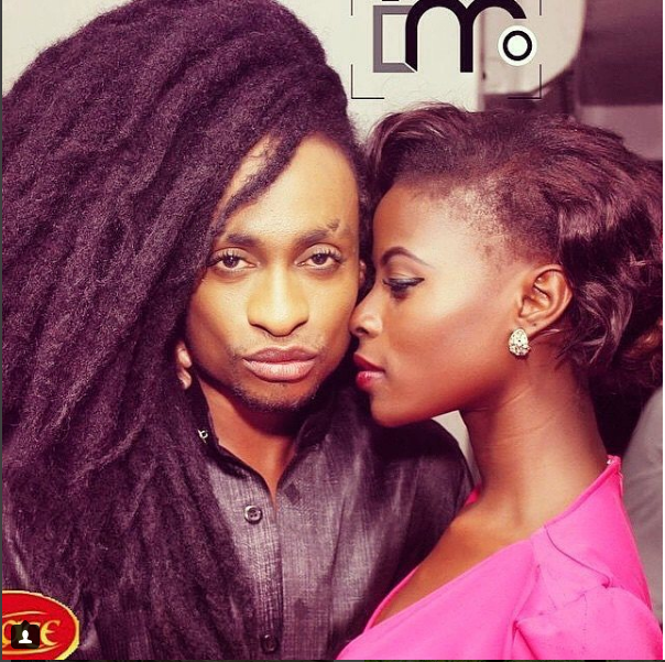 Lovely Photo From Denrele Edun And BB Naija Housemate Khloe's Reunion