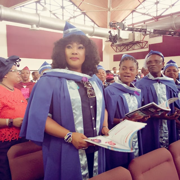 Lovely Photos From Actress Eucharia Anunobi's Graduation From RCCG School Of Disciples