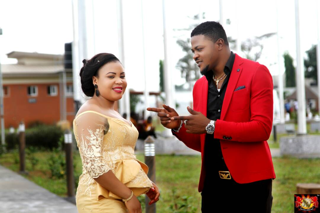 Check Out Beautiful Pre-wedding photos of Lydia Ibharagbebor and Alex Eze