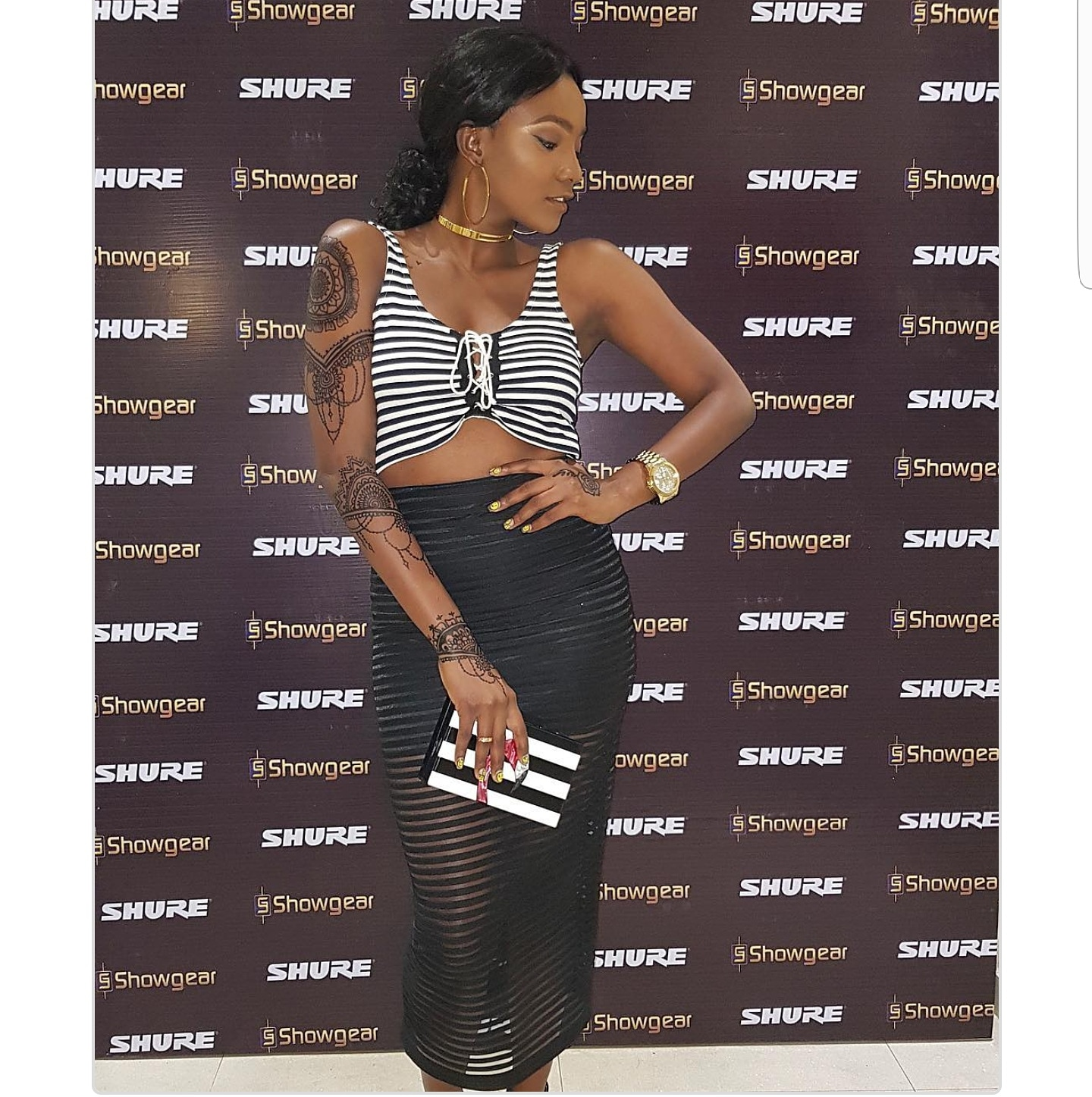 These Latest Photos Of Simi Shows Her Love For Body Art Designs