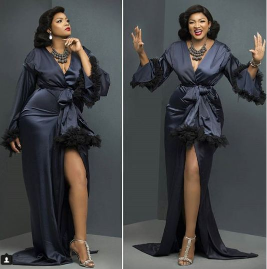 This Is How Omotola Jalade Ekeinde Celebrated Her 40th Birthday Yesterday