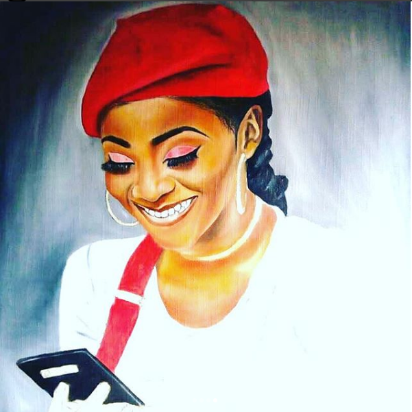 This Is How A Fan Shows Love For Music Artiste Simi