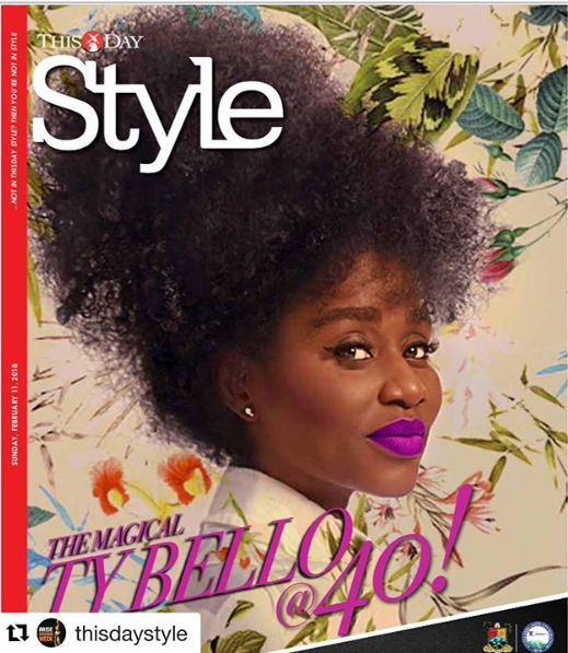 TY Bello Looks Exquisite On The Cover Of This Day Magazine