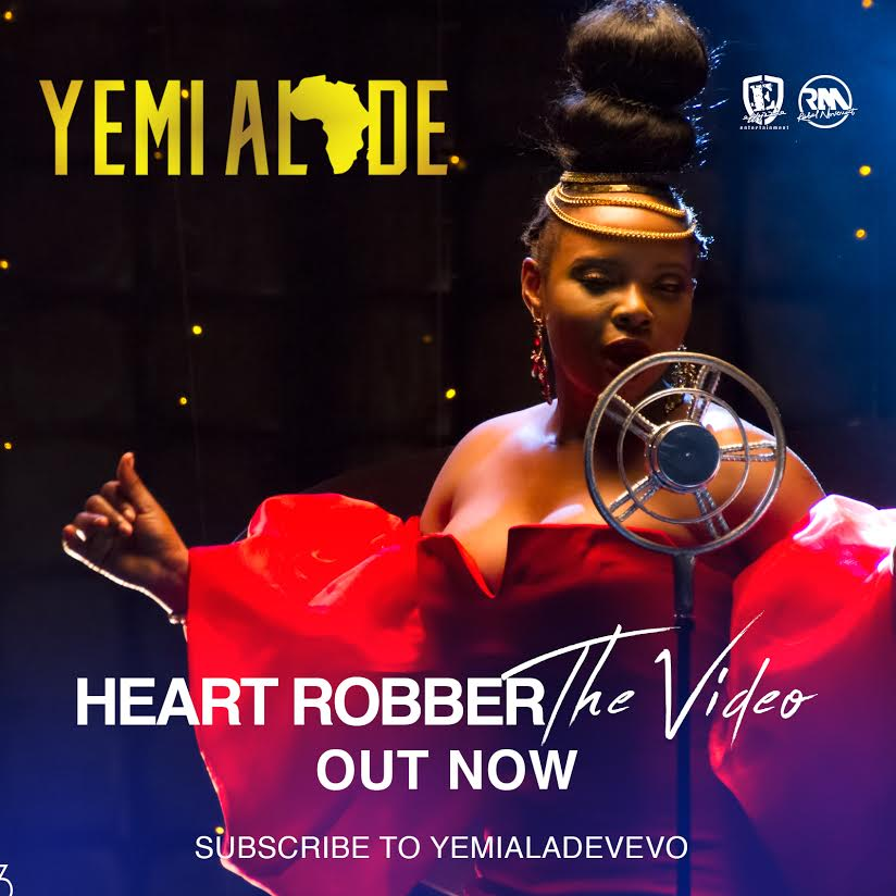 VIDEO PREMIERE: YEMI ALADE – HEART ROBBER (DIRECTED BY CLARENCE PETERS)