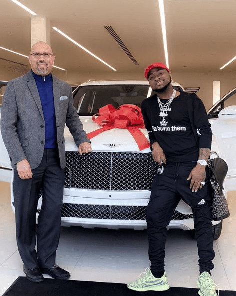 Davido Acquires 2018 Bentley Bentayga [Photos]
