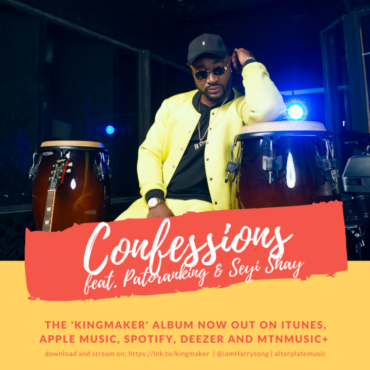 Fresh: Harrysong ft. Patoranking & Seyi Shay – Confessions