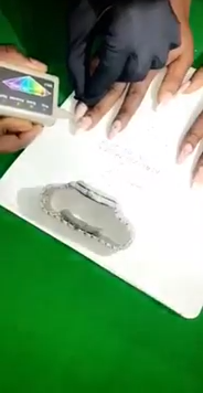Malivelihood Places 10 Carat Diamond On Fiancee's NAILS