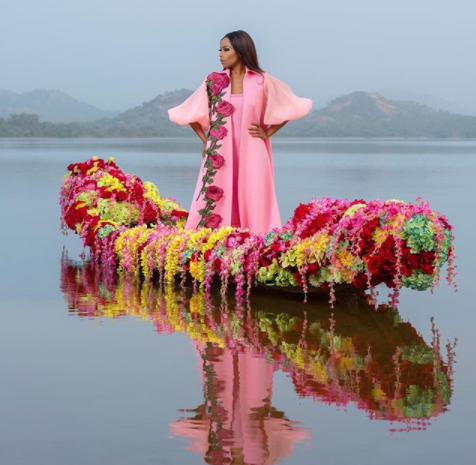 Exquisite Photos Of South African Media Personality Bonang Matheba From Her Latest Shoot