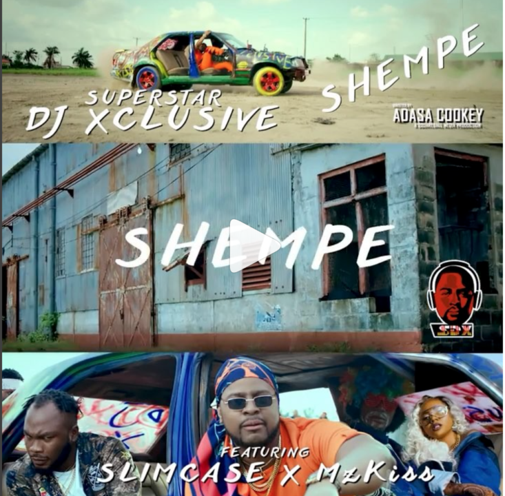 VIDEO: DJ Xclusive ft. Slimcase & Mz Kiss – Shempe