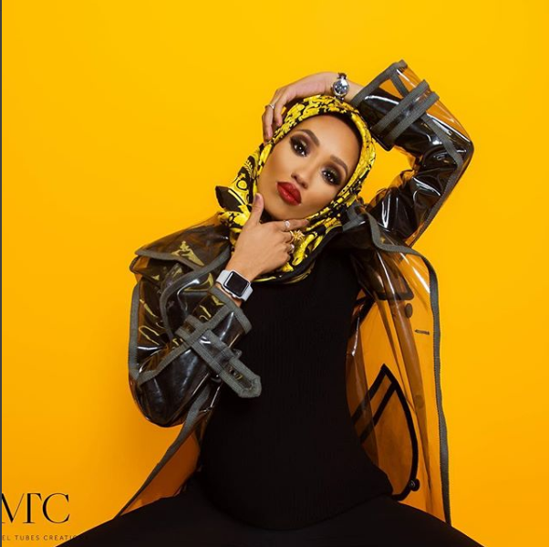 Latest Photos From Di'ja's Maternity Shoot Show Her Edgy Style