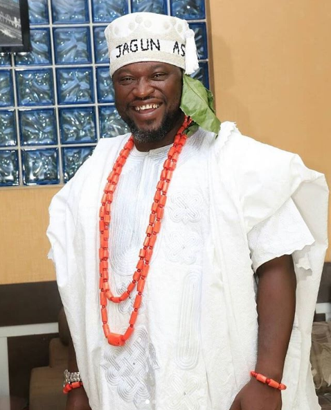 Photos From Actor Femi Branch's Coronation As The 'Jagun Asa Of Edeland'
