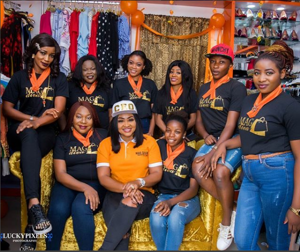 Photos From Actress Mercy Aigbe's Boutique Mag Diva Branch Launch In Ibadan