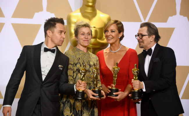This Is The Full List Of Winners From The Oscar 2018 Awards