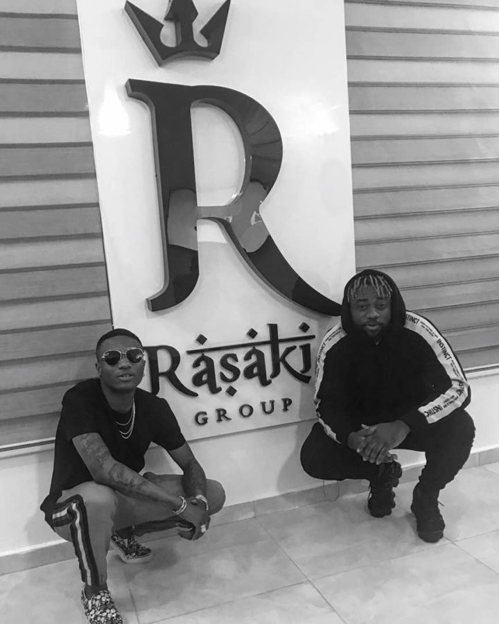 L.A.X Launches Rasaki Music Group | Wizkid, M.I Visit New Office (Photos)