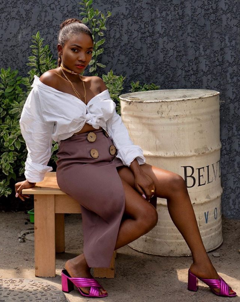 Simi Gives A Surprising Response To Questions About The Male Models In Her Videos