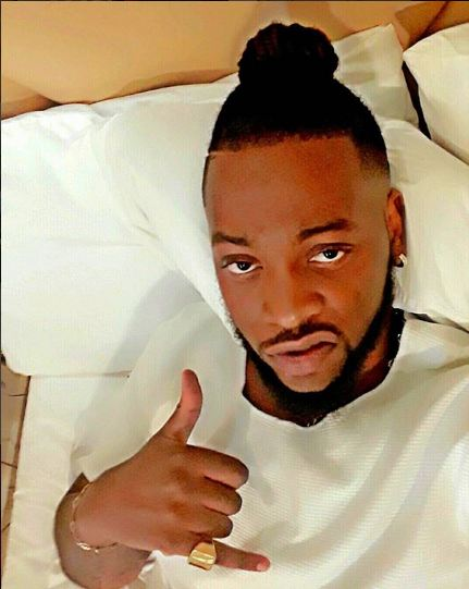 BB Naija 2018: Teddy A Gives The Camera A View Of His Penis