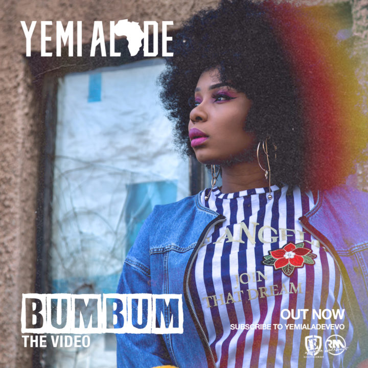 VIDEO: Yemi Alade – Bum Bum