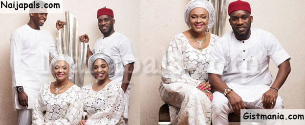 Nigerian Football Legend, Jay Jay Okocha Shares Cute Family Photos To Mark 20th Wedding Anniversary
